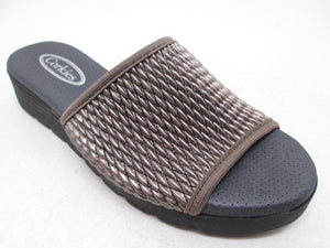 Corkies 17Z075 Bronze Womens Casual Comfort Slides
