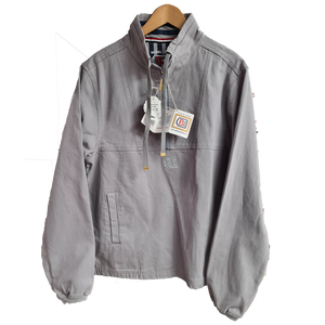Deal Mens AS-240 Grey Cotton Fisherman Smock