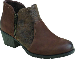 Earth Spirit Deltona Bark Womens Casual Comfort Ankle Boots
