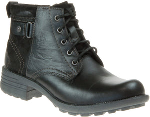 Earth Spirit Paxton 2 Black Womens Casual Comfort Ankle Boots