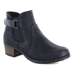 Earth Spirit El Reno Black Womens Casual Comfort Ankle Boots