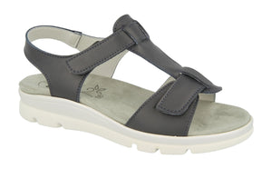 EasyB 68167N Navy (EV) Womens Wide Fit Casual Comfort Sandals