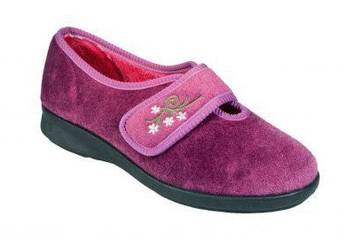 EasyB 71076H Heather Womens Casual Comfort Washable Slippers