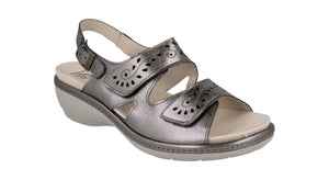 EasyB 78519S Maple Pewter (2V) Womens Casual Comfort Sandals