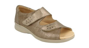 EasyB 78528S Cinnamon Pewter (2V) Womens Wide Fit Casual Comfort Sandals