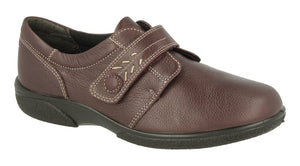EasyB 79315J Healey Wineberry Womens Casual Comfort Wide Fit 4E Fitting Shoes