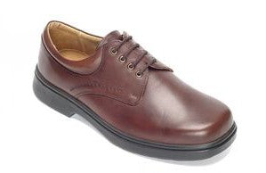 EasyB 87035B Shannon Brown Mens Casual Comfort Leather Wide Fit Shoes
