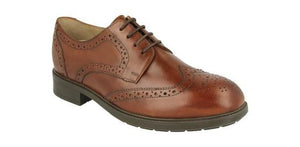 EasyB 87157T Tan Mens Smart Shoes