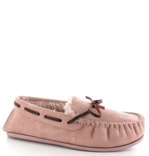 Ella Faith Mink Womens Casual Comfort Slip On Slippers