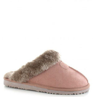 Ella Jill Mink Womens Casual Comfort Slip On Slippers