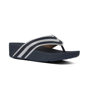 FitFlop Millie Navy Womens Casual Comfort Toe Post Sandals