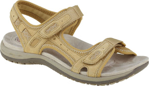 Earth Spirit Frisco Amber Yellow Women's Casual Touch Fastening Sandals