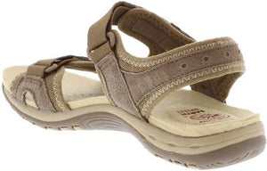 Earth Spirit Frisco Sedona Brown Women's Casual Touch Fastening Sandals