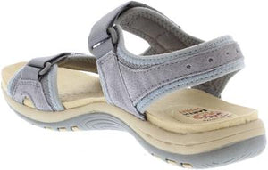 Earth Spirit Frisco Frost Grey Women's Casual Touch Fastening Sandals