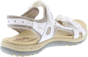 Earth Spirit Frisco white Women's Casual Touch Fastening Sandals