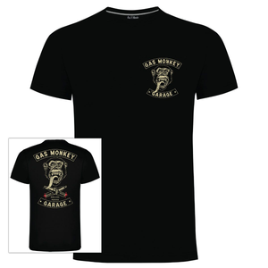 Gas Monkey Garage Black Ride On T-Shirts