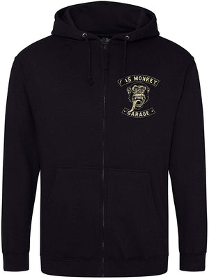 Gas Monkey Garage Black Zip Hoodie Ride On