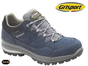 Grisport Lady Olympus Navy Womans Lace Up Nubuck Walking Hiking Shoes