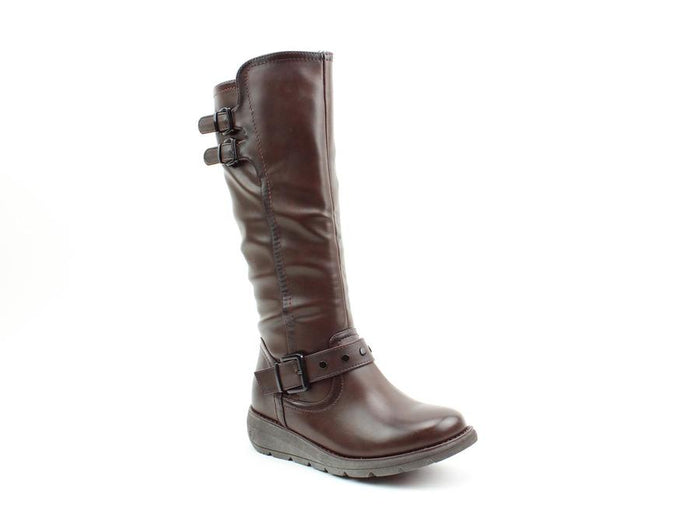 Heavenly Feet Erica Chocolate Womens Casual Comfort Boots