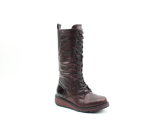 Heavenly Feet Maze2 Ruby Womens Casual Comfort Boots