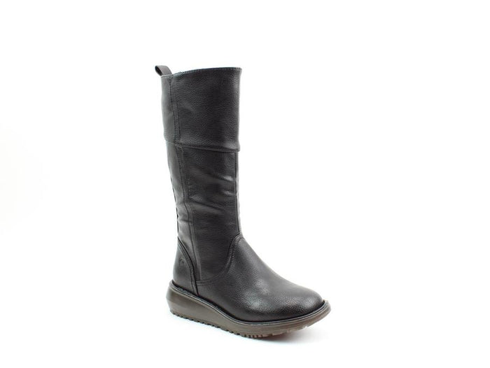 Heavenly Feet Robyn2 Black Womens Casual Comfort Boots