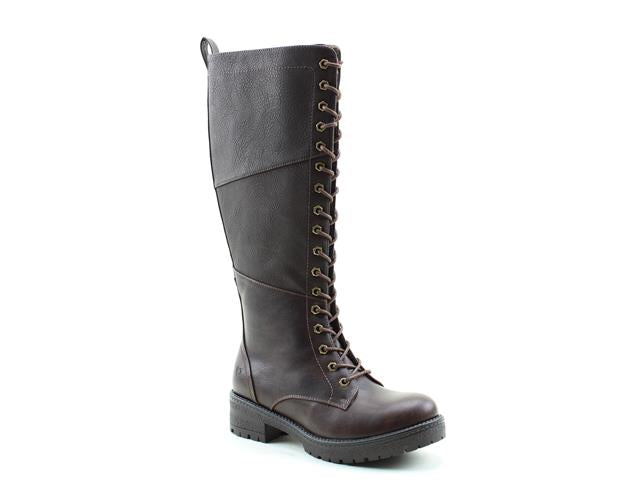 Heavenly Feet Hunter Chocolate Womens Casual Vegan Friendly Calf Boots