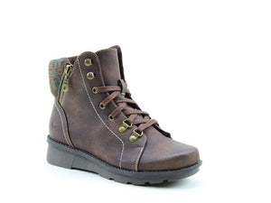 Heavenly Feet Lexi Chocolate Womens Casual Comfort Ankle Boots