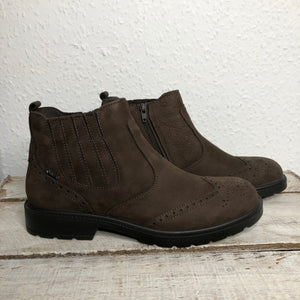 IGI&CO 6102933 Caffe Mens Casual Comfort GORE-TEX Leather Ankle Boots
