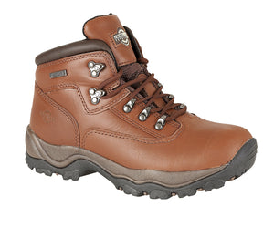 Northwest Territory Inuvik Brown Mens Walking Hiking Boots