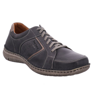 Josef Seibel Anvers 59 Ocean-Kombi Mens Real Nubuck Leather Lace Up Shoes