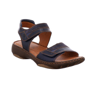 Josef Seibel Debra 19 Denim-kombi Womens Casual Comfort Leather Sandals