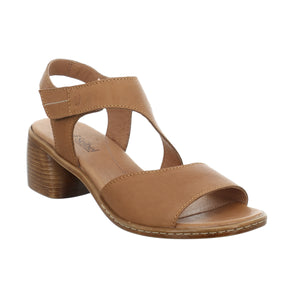 Josef Seibel Juna 02 Camel Womens Casual Comfort Leather Sandals