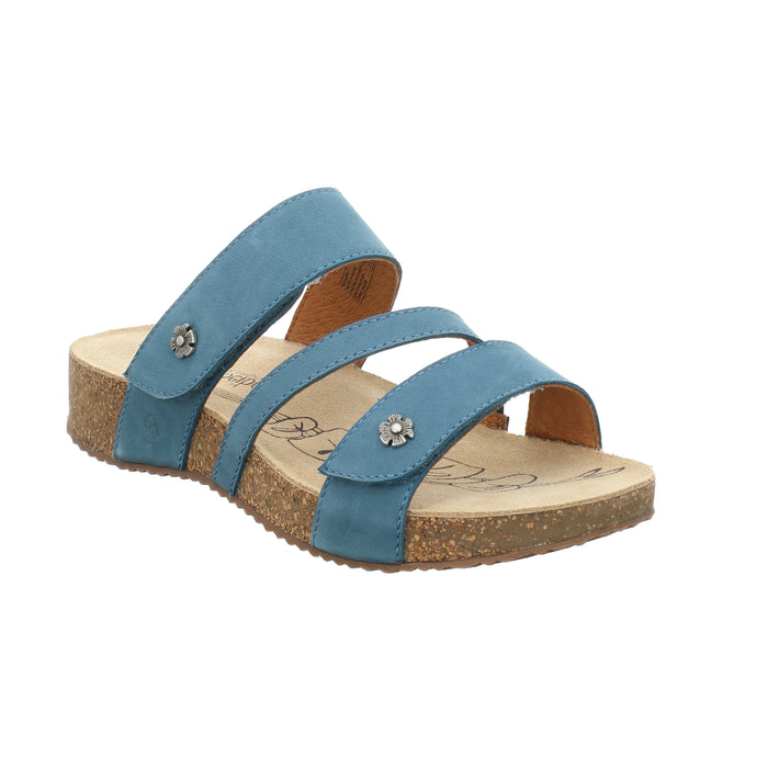Josef Seibel Tonga 54 Azur Womens Casual Comfort Leather Sandals