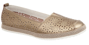 Boulevard L262BR Bronze Womens Casual Shoes
