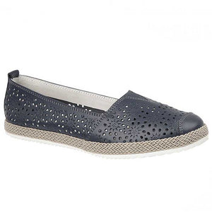 Boulevard L262NC Navy Womens Casual Shoes