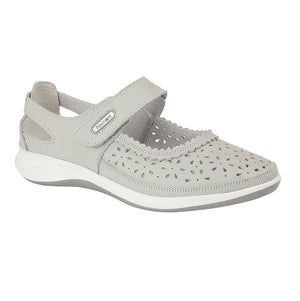 Boulevard L9552LF Light Grey Womens Casual Shoes