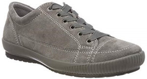 Legero 8-00820-88 Grey Womens Leather Flat Comfort Trainers Shoes