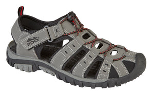 PDQ M040F Grey Mens Casual Walking/Trail Sandals
