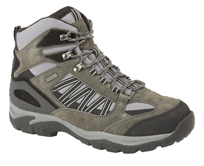 Johnscliffe M205F Grey Mens Casual Comfort Waterproof Hiking Boots