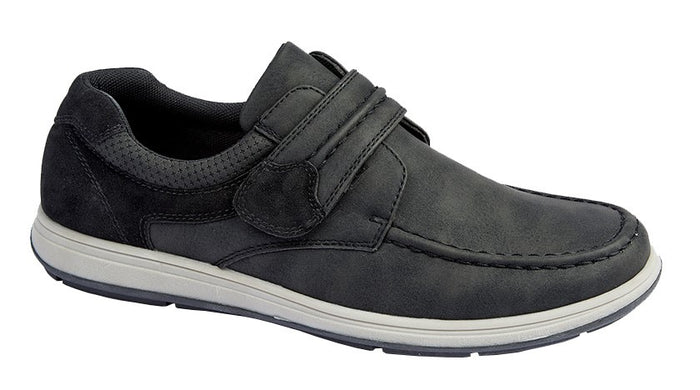 Scimitar M364A Black Mens Casual Comfort Shoes