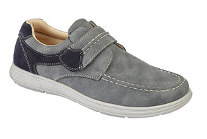 Scimitar M364F Grey Mens Casual Comfort Shoes