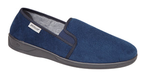 Dunlop MS431C Jethro Navy Men's Comfort Slippers