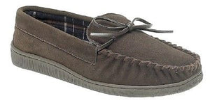 Sleepers MS461BX Brown Mens Casual Comfort Suede Slippers
