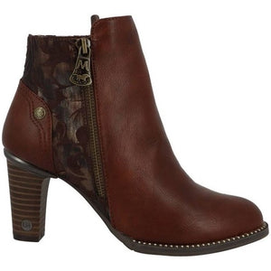 Mustang 1335-501-301 Brown Womens Casual Comfort Stylish Ankle Boots