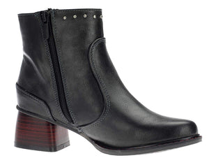 Mustang 1342-502-259 Graphit Womens Casual Stylish Ankle Boots