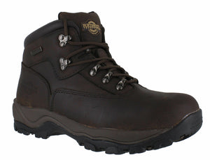 Northwest Territory Inuvik Waxy Brown Mens Walking Hiking Boots