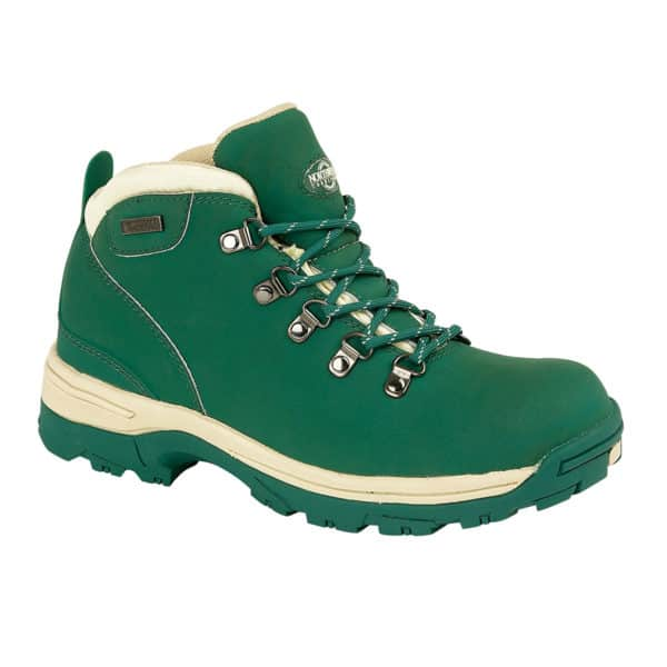 Northwest Territory Trek Forest Green Womens Walking Hiking Boots