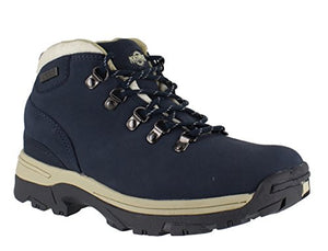 Northwest Territory Trek Navy Womens Walking Hiking Boots