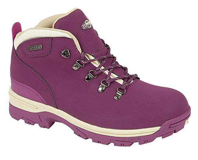 Northwest Territory Trek Purple Womens Walking Hiking Boots