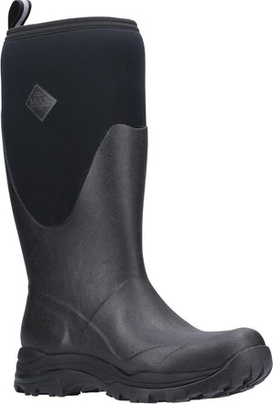 Muckmaster Arctic Outpost Black Mens Tall Wellington Boots